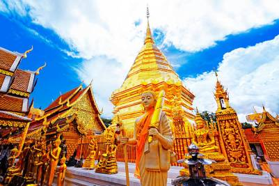Things To Do In Southeast Asia Wat Phra That Doi Suthep - https://explorethe6.com/